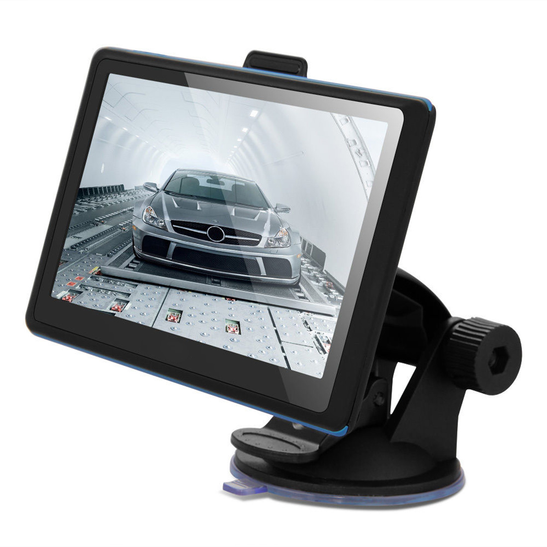Car Gps  Inch Touch Screen X Resolution Vehicle Car Gps Navigation Support Fm Transmission Gb Europe Map Tkb New