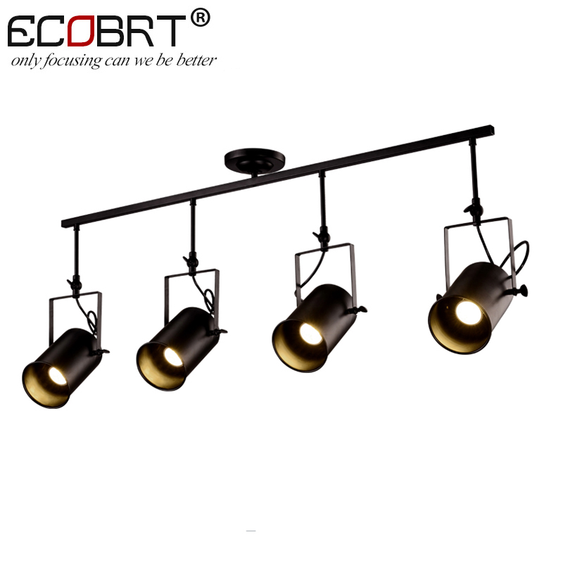 NEW Vintage Loft Ceiling Light Creative Iron Metal Hanging Lamp Fixture American Retro Decorative Ceiling Lights 1/2/3/4 Lights