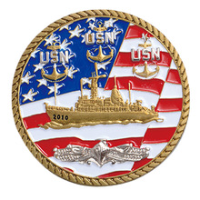 Factory outlet cable side flag coin