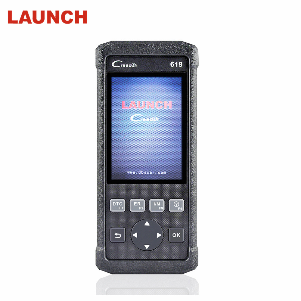 2018 OBD2 OBD 2 Automotive Scanner LAUNCH Creader CR619 Supports ABS SRS Airbag