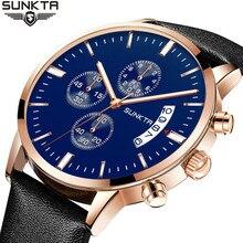 Mens Watches Top Brand Luxury Male Military Sport Luminous Watch men Business quartz-watch Male Clock Man Relogio Masculino