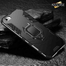 KISSCASE Shockproof Case For Xiaomi Redmi Note 5/6 pro 4/4X Magnetic Car Holder Case For Xiaomi MI8 Lite A1/A2 Mix 2 S 5X/6X Bag(China)