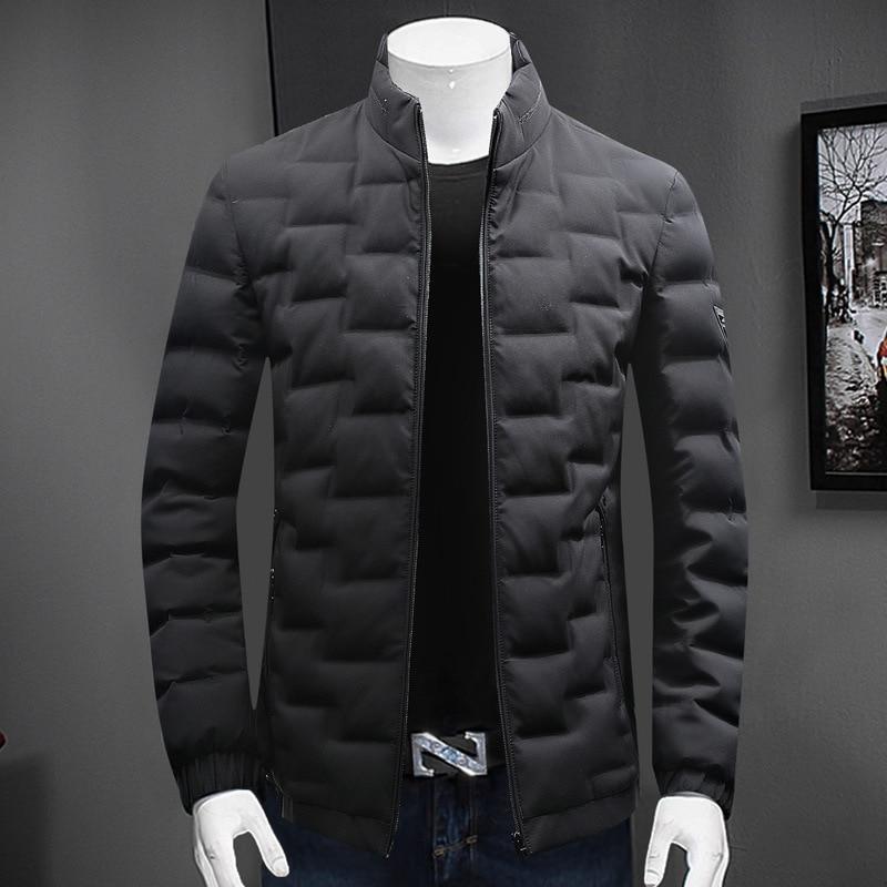 High Quality Mens Coat 2019 Fashion Cotton Jackets Winter Warm Casual Mens Add Fertilizer XL Men's Cotton Clothing Size L-7XL