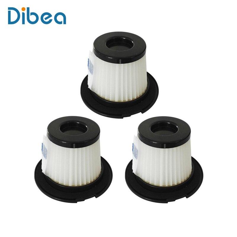 3 Hepa Filtres Pour Dibea C17 Sans Fil Bâton Aspirateur De Poche Collecteur de Poussière Ménage Aspirateur