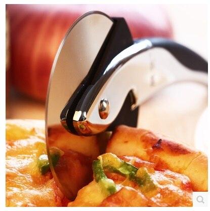 Pizza roound wiel snijder mes Pizza cutter mes-in Pizza Hulpmiddelen van Huis & Tuin op
