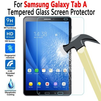 For Samung Galaxy Tab A6 A7 A 7.0 8.0 9.7 10.1 10.5 10.4 T290 T380 T500 T550 T510 T580 T585 P580 Tempered Glass Screen Protector