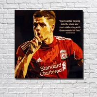 Free Shipping Hot Sale New Arrival Good Quality Wall Art Home Football Poster Pop Art Hand painted Oil Painting Canvas RW392