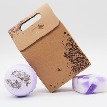 Tsing Bath bomb 120g Stress Relief SPA Gift Set Lavenderb Natural bath bombs Scented soap  Handmade Soap 100g Moisturizing