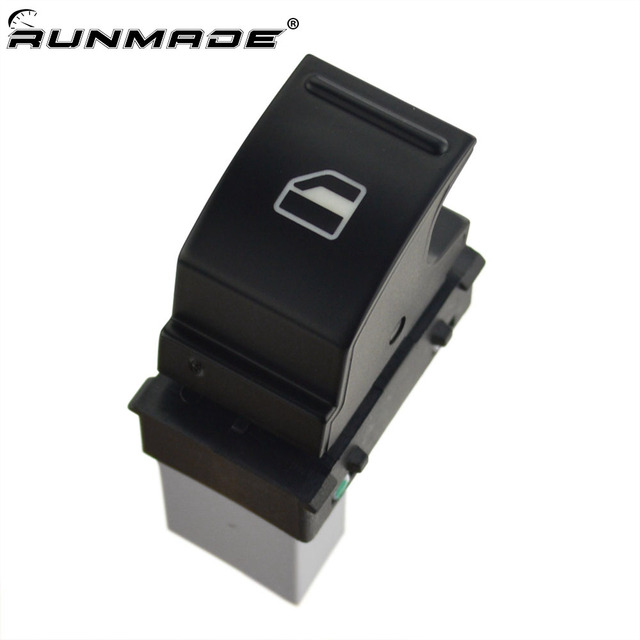 runmade 1Pcs Side Window Switch Control Button 1KD 959 855 7L6 959 855 B For VW CC Eos Golf Jetta Passat Polo Caddy Scirocco