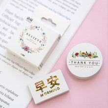 20packs/lot Lovely Small fresh decorative Mini Paper Lable Stickers Diary Adhesive Scrapbooking DIY Wholesale