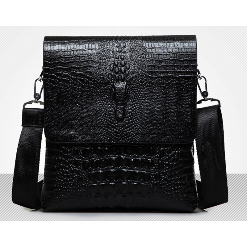 Men/'s Shoulder Bag PU Leather Crossbody Handbag Briefcase Messenger Travel Bags