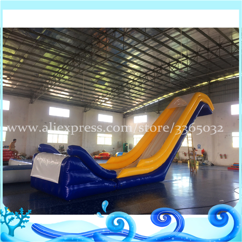 Inflatable Water Slides For Sale: Factory Supply Custom Inflatable Yacht Slide, Giant