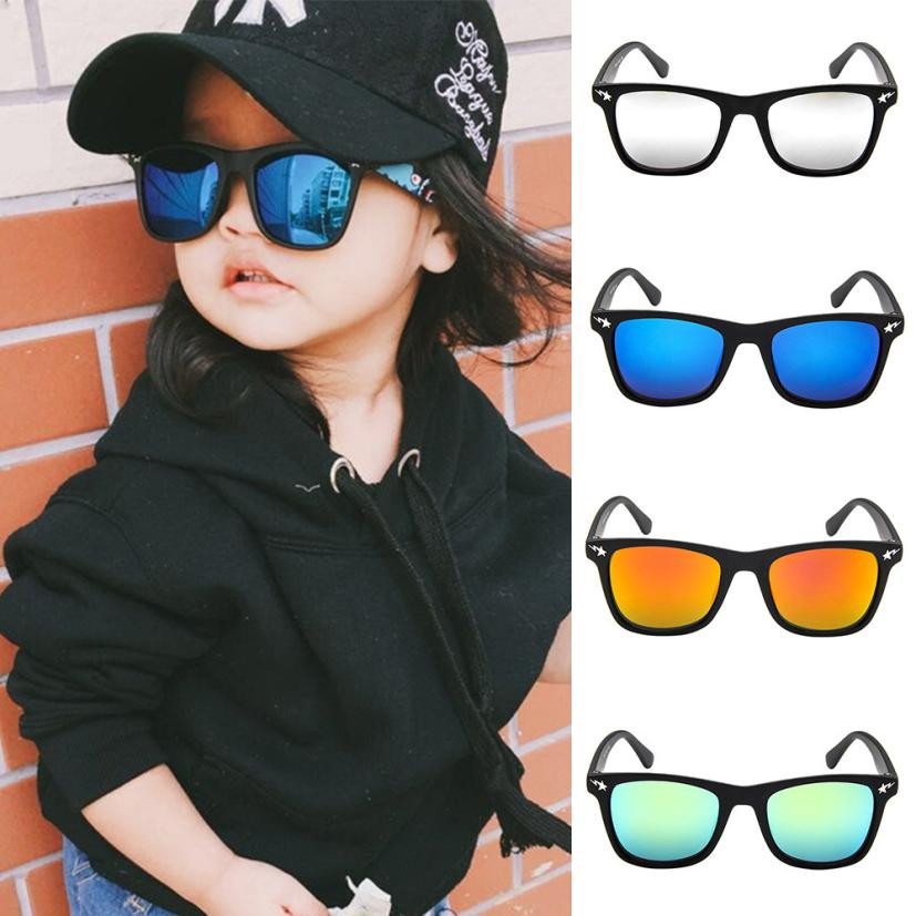 Cool Kids Sunglasses Sun Glasses for Children Boys Girls Fashion Eyewares Coating Lens UV 400 Protection
