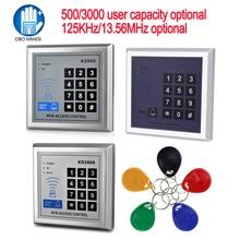 Access-Control-Board Door-Lock RFID 10-Mifare 125khz/13.56mhz Em-Card-Reader Entry-Security-System