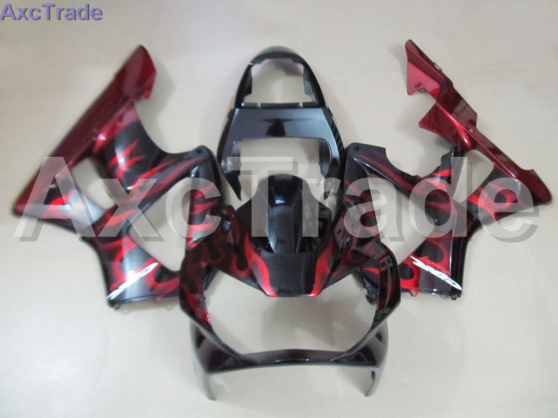 Motorcycle Fairing Kit For Honda CBR 929 900 RR 929RR 00 01 900 2000 2001 CBR900RR Fairings kit High Quality ABS Plastic Red B74