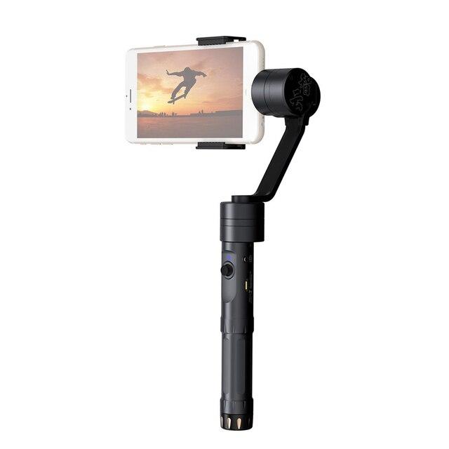 UE Stock Zhiyun Suave 2 Ejes Sin Escobillas Cardán Estabilizador de Mano para Smartphone con 6 pulgadas iPhone 6 S 7
