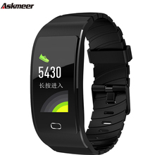 ASKMEER S7C Smart Wristband Color Screen smart bracelet sport Tracker watch heart rate monitor waterproof band