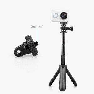 Image 5 - Vamson voor DJI OSMO Action Uitschuifbare Handvat Statief Pocket Pole Mini Selfie Stick voor Gopro Hero 7 6 5 Zwart voor Xiaomi yi VP421