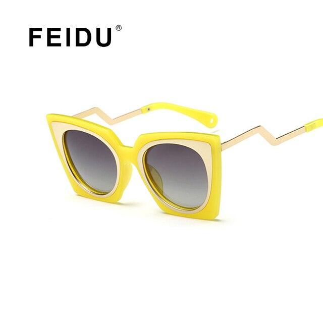 FEIDU - Lunettes de soleil - Homme - gris - OoXs9