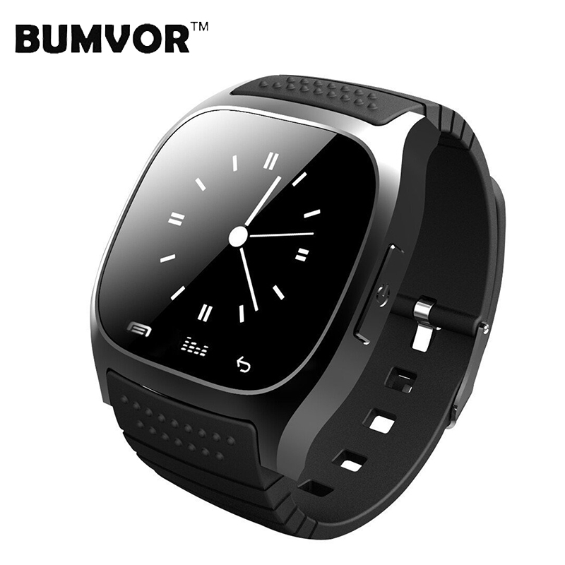 Bluetooth Wrist Smart Watch M26 Waterproof Devices Social App/Call Reminder Sport Pedometer Android Fitness Tracker timarco m26 blue