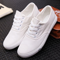 2016 New lace-up Women 's shoes, white shoes round casual shoes
