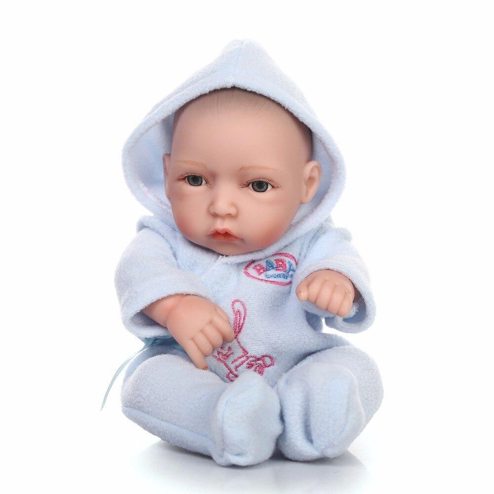 3f58b728 ⑦Mini Silikonowe realistyczne reborn lalki dla dzieci 28 cm dzieci ...