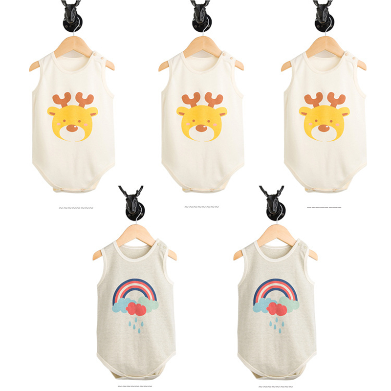 HTB1YyxzihuaVKJjSZFjq6AjmpXay - 2 Pcs/set Baby bodysuit Baby girl boy clothes for newborn Organic cotton baby clothing children christmas jumpsuit sleepwear