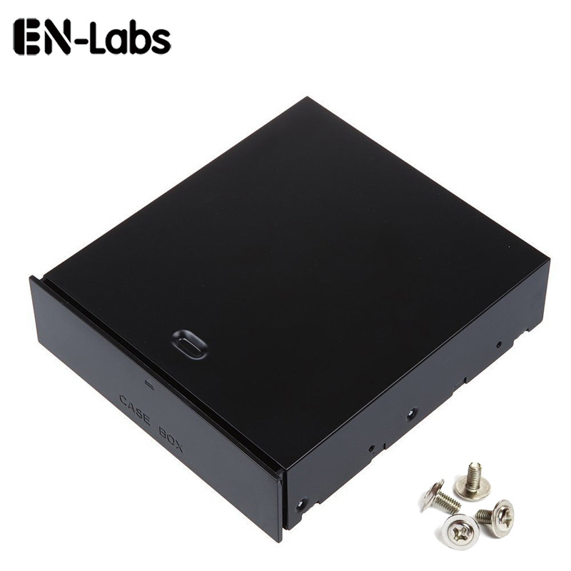 "En-Labs սեղանադիր համակարգիչ 5.25 ""Bay Case Box Rack Blank Organizer Drawer Storage Devices, Memory Card, USB Flash Drive, Accessories"