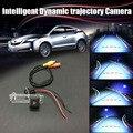 HD Intelligent Dynamic траектории Спорт Камера Заднего Вида Парковка Для Renault Espace 4 (2003 ~ 2014)/фонарь освещения Номерного знака