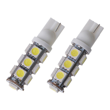 200X T10 194 168 W5W 5050 13 SMD LED Parking 12V DC Car Door Light Car Led Clearance Bulb Light Sourse Interior Lamps Wholesale фасад ф 60 аура для корпусов т 60 п 60 шампань