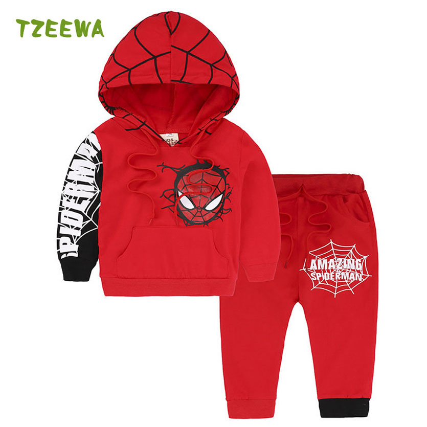 2018 Boys Clothes Sets Spring Casual Kids Clothes Boys Tracksuit Long Sleeve Children Clothing Sports Suit