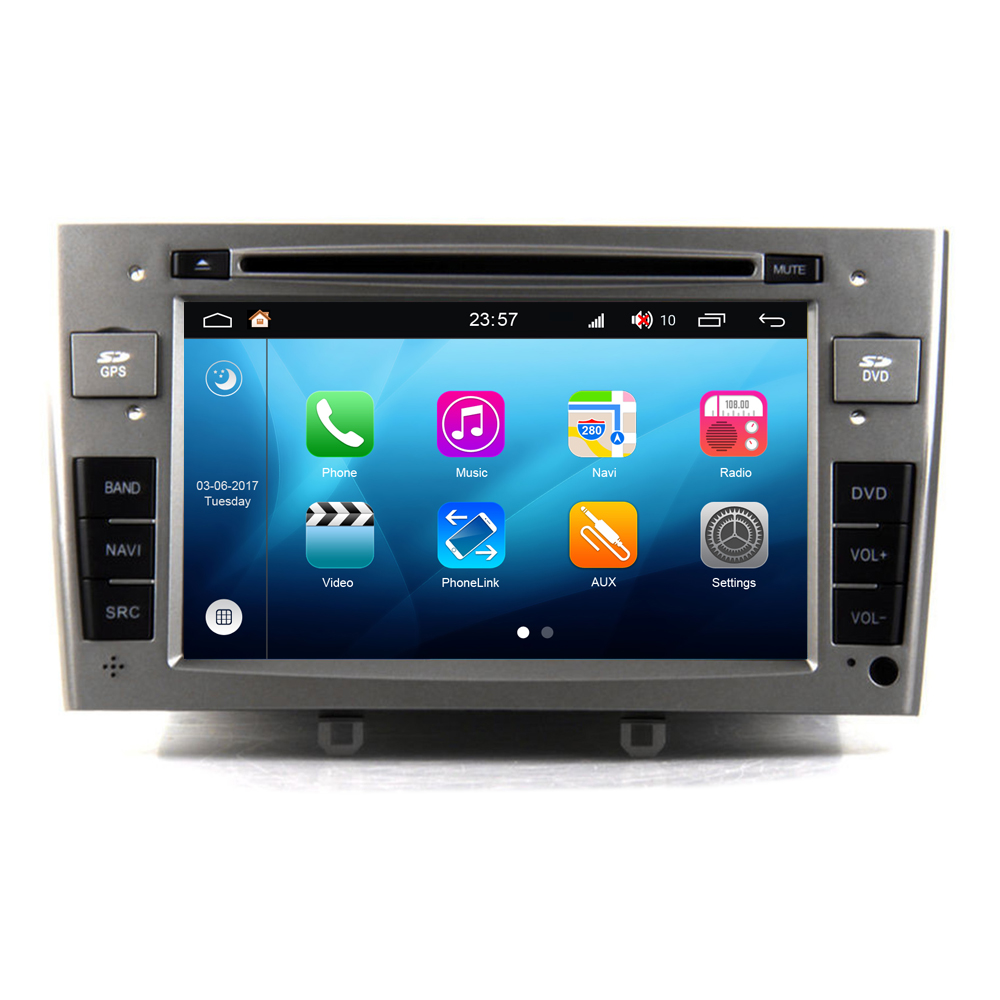 RoverOne <font><b>Android</b></font> <font><b>8.0</b></font> Car Multimedia System For <font><b>Peugeot</b></font> 408 <font><b>308</b></font> 308CC 308SW Radio Stereo DVD GPS Navigation Media Music Player image