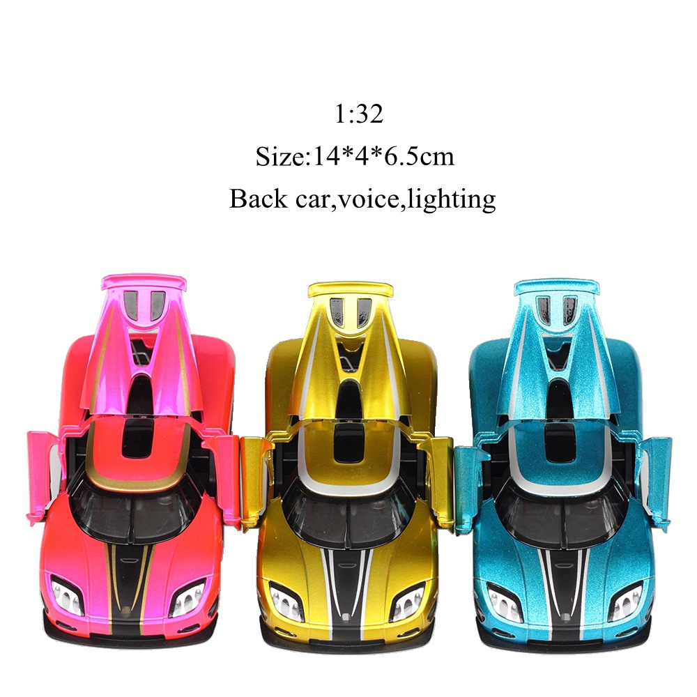 2018 new 1:32 alloy pull back car educational musical mini kawaii kids model toys brinquedos oyuncak juguetes hot freeshipping