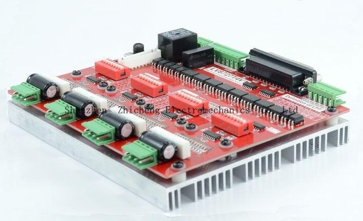 LV8727 CNC Four Axis 4 Axis Stepper Motor Driver Controller Board for MACH3 KCAM4