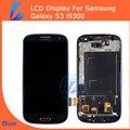 LL ТРЕЙДЕР Синий Для Samsung Galaxy S3 i9300 Дисплей Galaxy S3 Дигитайзер Сенсорный Экран Цифровой Замена + Рамка Ассамблеи + Инструменты