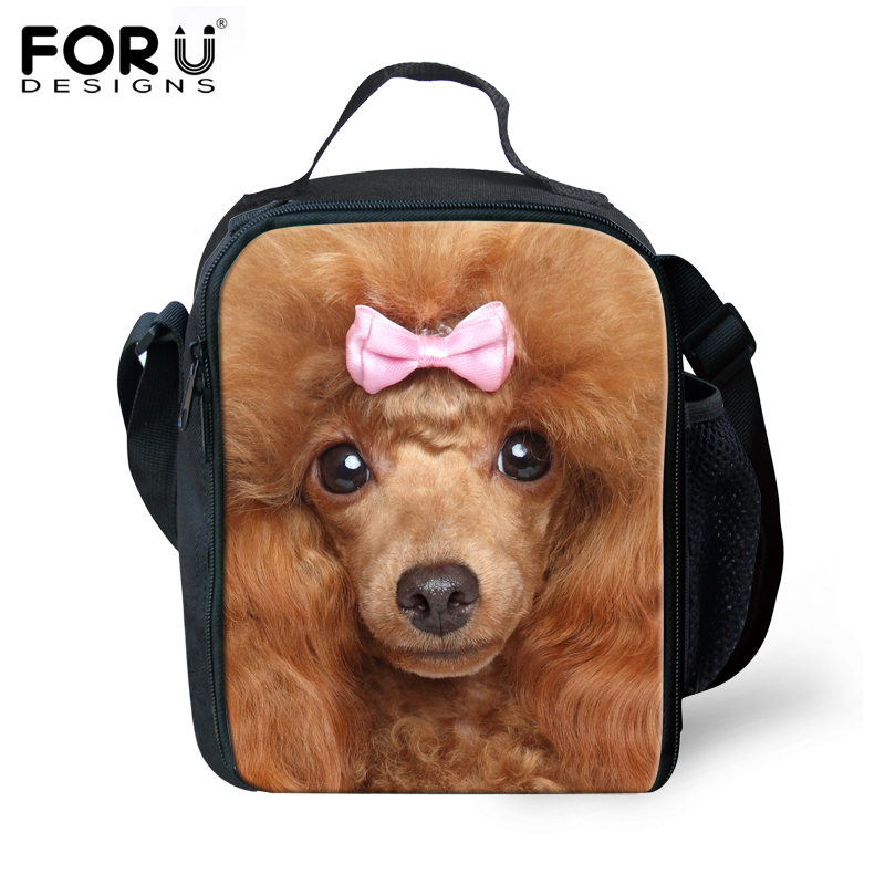 new fashion 3d printing horse pig thermal lunchbox,children zoo animals picnic thermal bag lunch box,cute kids lunch bags 2015