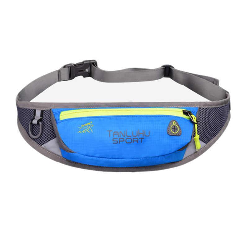 8d8aeea2d9e5 TANLUHU спортивная сумка для бега на пояс водонепроницаемая нейлоновая  поясная сумка для Бега Велопрогулки тренировки Туризма