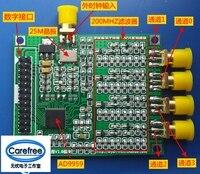 Four channel quadrature signal generator AD9959 DDS core board AD9854 200MHZ