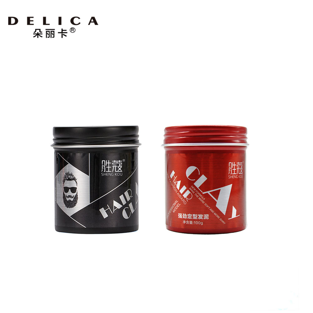 Professional Hair Wax Modern Styling Clay for Hair Long-lasting Matte Modelling Pomade 100gProfessional Hair Wax Modern Styling Clay for Hair Long-lasting Matte Modelling Pomade 100g