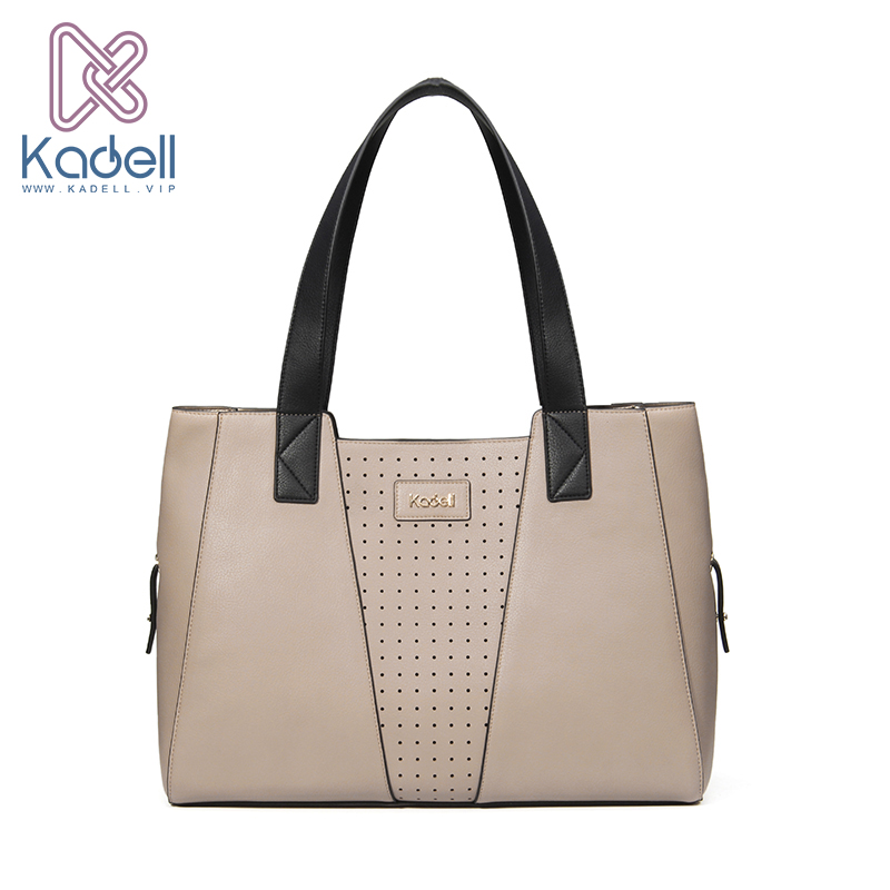 Kadell Brand 2017 Hollow Out Shoulder Bags Big Capacity Casual Bag Women Handbag High Quality Leather Tote Bag Elegant Female kadell hollow designer handbags high quality women casual tote bag female large shoulder messenger bags pu leather business bag