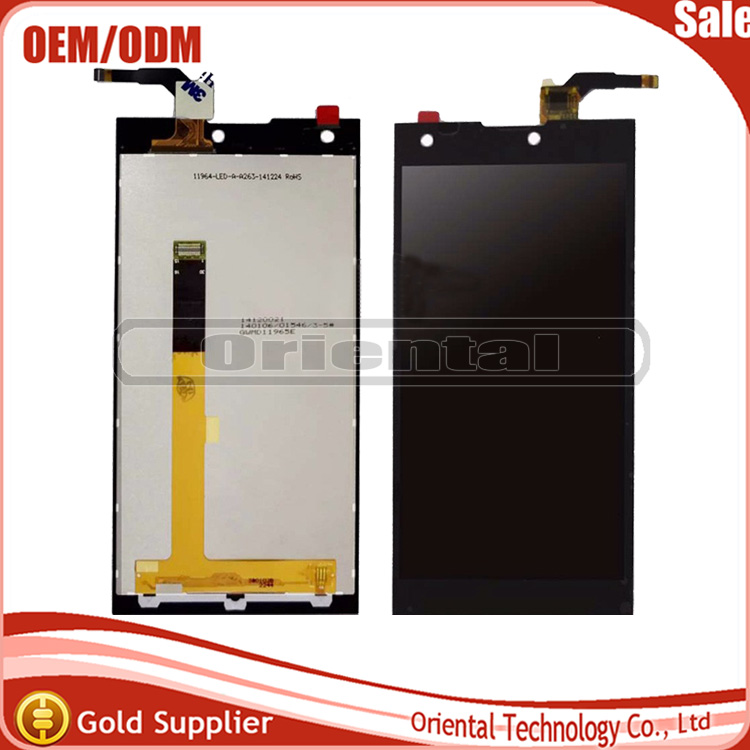 Black For DEXP Ixion W 5 LCD Display +Touch Screen digitizer for DEXP Ixion w5 lcd screen Free shipping