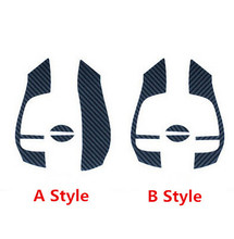 Hot Car Styling Carbon Fiber Steering wheel logo sticker case for nissan x-trail x trail xtrail rogue 2014 2015