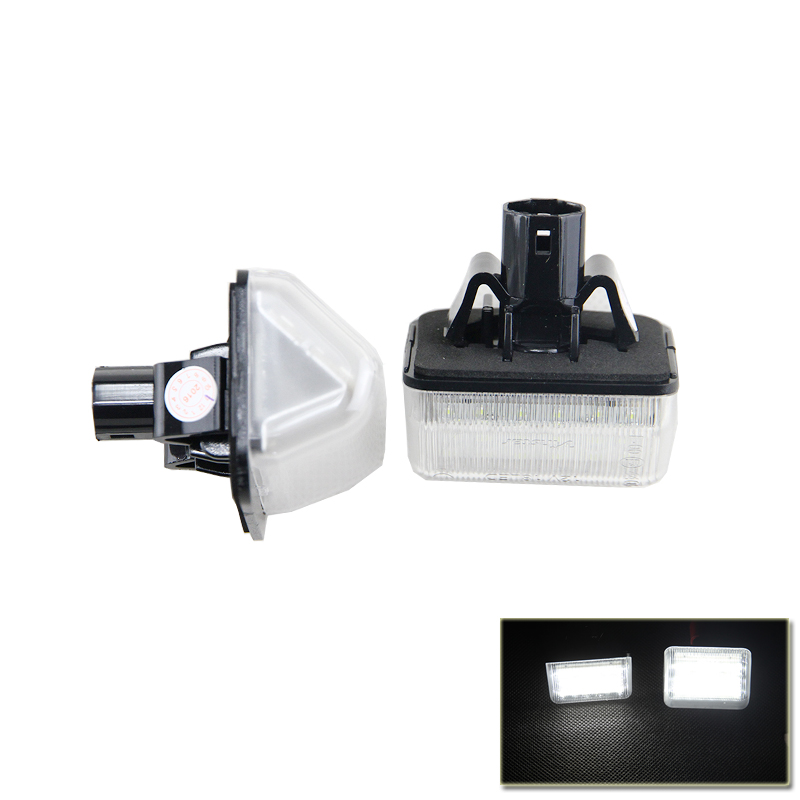 Xenon White Set OE-Replace <font><b>Led</b></font> Number License Plate Lights Lamp For <font><b>Mazda</b></font> CX5 <font><b>CX7</b></font> 6 Speed6 Car Styling Car <font><b>Led</b></font> Auto Light image
