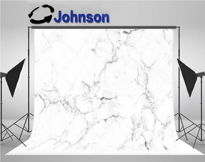 White Marble Texture Natural Pattern photo backdrop Vinyl cloth High quality Computer print party photography backgrounds цена