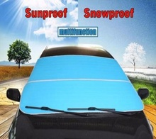 GLCC Car Windshield Sun Shade Snow Proof Covers Universal For Sedan SUV MPV Anti-UV Waterproof Auto Window Protector 3 Colours