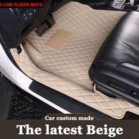 car floor mats for Mercedes Benz G350 G500 G55 G63 AMG W164 W166 M ML GLE X164 X166 GL GLS 320 350 400 420 carpet