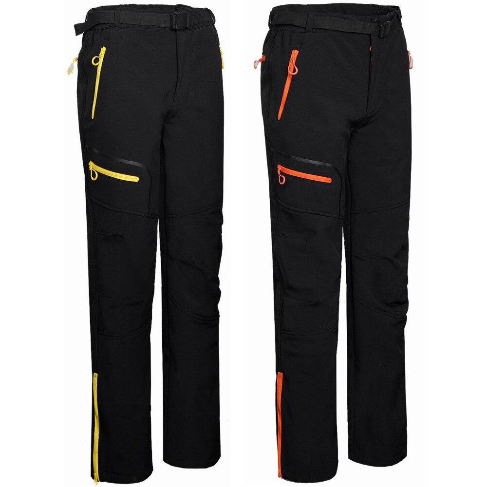 ФОТО New 2016 Winter Ski Tech Fleece Men's Softshell Waterproof Pants Male Outdoor Sport Windproof Trousers Trekking Sportwear,UA188