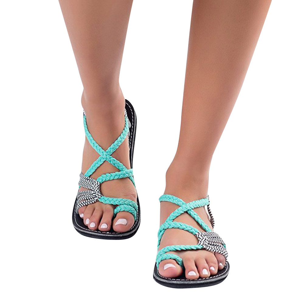 Fashion Summer Spring Sandals Cross Style