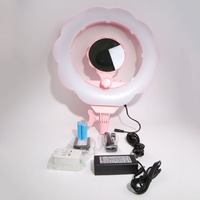 Sl 107 мобильный телефон живая красота свет Регулируемая зарядка заполняющая вспышка Светодиодная лампа автоспуска