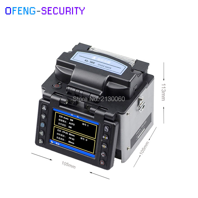 Fusion Splicer, Optic Fiber Fusion Machine KL-500 Multi-function Optical Fiber Fusion Splicer, Jilong KL500 Fusion Splicer